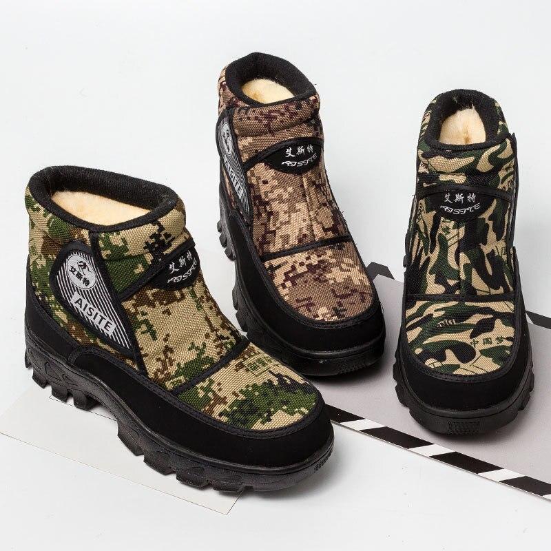 2019 Männer Stiefel Plattform Schnee Stiefel Für Männer Dicken Plüsch Wasserdichte Rutschfeste Winter Schuhe Plus Größe Ghn78 FöRderung Der Produktion Von KöRperflüSsigkeit Und Speichel