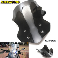 MTKRACING New motorcycle Windscreen appropriate for BMW G310GS 2017 2018 G310 GS G 310GS