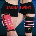 NEW Woman Leg Shaper Sauna Sweat Thigh Calories off Warmer Slender Slimming Legs Redu Fat Thermo Neoprene Compress Massage Belt