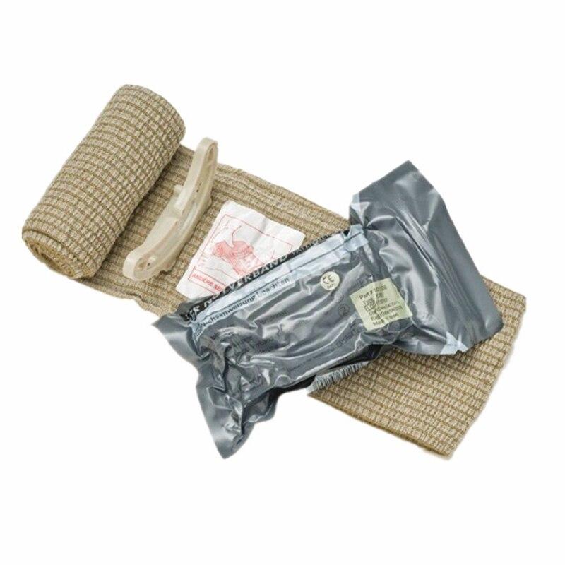 Israeli Bandage Battle Medical Dressing Trauma Force Training First Aid Hemostatic Medical Compression Emergency Bandage-in Emergency Kits from Security & Protection