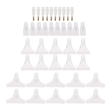 40pcs Replacement Pen Heads For 5D Diamond Painting Cross Embroidery Point Drill