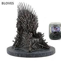 Game Of Thrones Iron Throne Action Figure Song Of Ice Fire Sword Chair Model Toys Phone