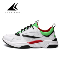 Leixiang 2018 I N S super hot sport running shoes old lace up white skool sneakers men for male zapatillas deportivas mujer