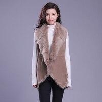 Fur Vest Women Shearling Jacket Fur Coat Tuscany Wool Outerwear TJ004