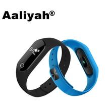 [Aaliyah] M25 0.86 Pantalla OLED De Fitness Inteligente Reloj Pulsera Pulseras Ritmo Cardíaco Del Monitor de La Presión Arterial Para iOS Android
