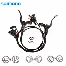 Cheaper SHIMANO BR-BL-M355 Bicycle Hydraulic Disc Brake Set MTB Mountain Bike Calipers Left & Right Lever 160 mm Rotors Black