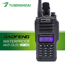 New IP-57 Waterproof Professional Walkie Talkie BAOFENG Radio Station Ham Two Way Radio BF-A58 advantages mean well hrpg 200 48 48v 4 3a meanwell hrpg 200 48v 206 4w single output with pfc function power supply [real1]