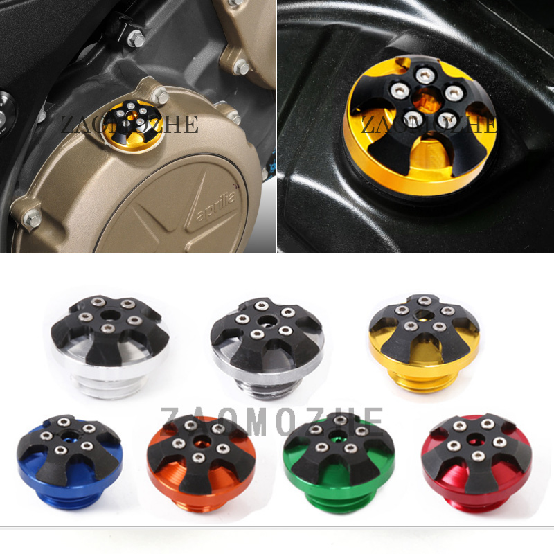 M20*2.5 Motorcycle Accessories Engine Oil Filler Cap Plug Screw Cover For Honda CB400X CB400F CB500F <font><b>CB500X</b></font> <font><b>2013</b></font> 2014 image