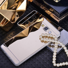 New sale Soft Luxury Plating Mirror Case Back Cover For Samsung Galaxy S3 DUOS S4 S5 NEO S6 S7 Edge A3 A5 J1 J3 J5 J7 2016 2017