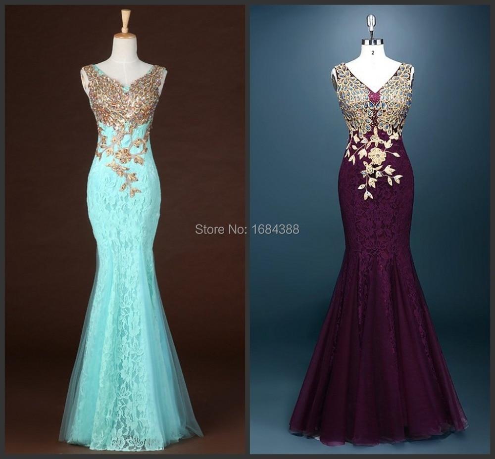 Apliques en vestidos de fiesta