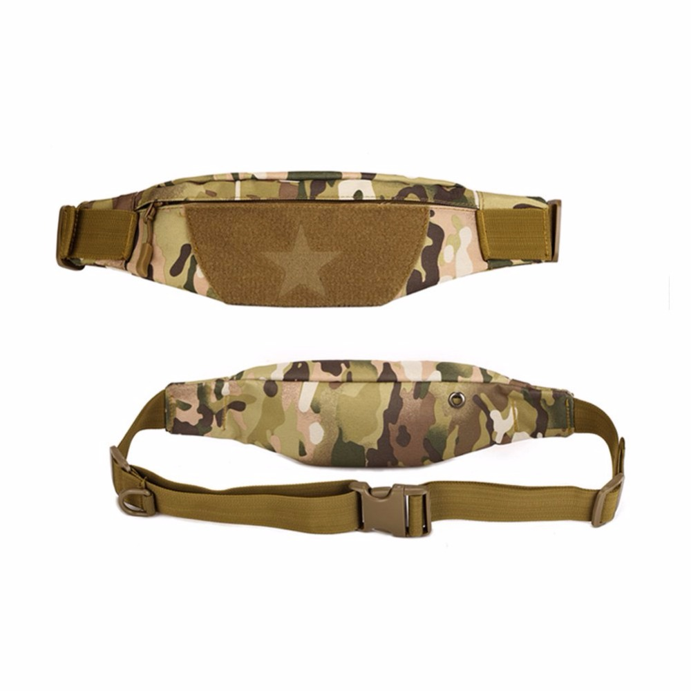 Free USA Shiping Camouflage Outdoor Invisible Pack Waist Belt Nylon Bag Travel Wallet Hip Tight Pouch for Cycling Travel Climbin