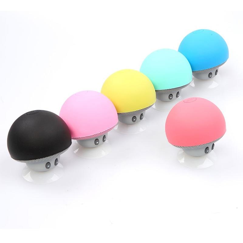 Wireless Mini Bluetooth Speaker Portable Mushroom Stereo Bluetooth Speaker for Mobile Phone iPhone Xiaomi Computer Dropshipping