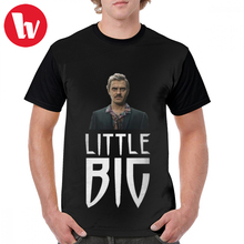 Little Big T Shirt Skibidi Design T-Shirt Awesome Short Sleeves Graphic Tee Male Oversized Tshirt