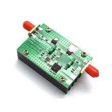 Lusya 1mhz 700mhz hf vhf uhf fm transmissor rf amplificador de potência 3.2w com dissipador de calor para o módulo de rádio presunto dc 15v A6 020