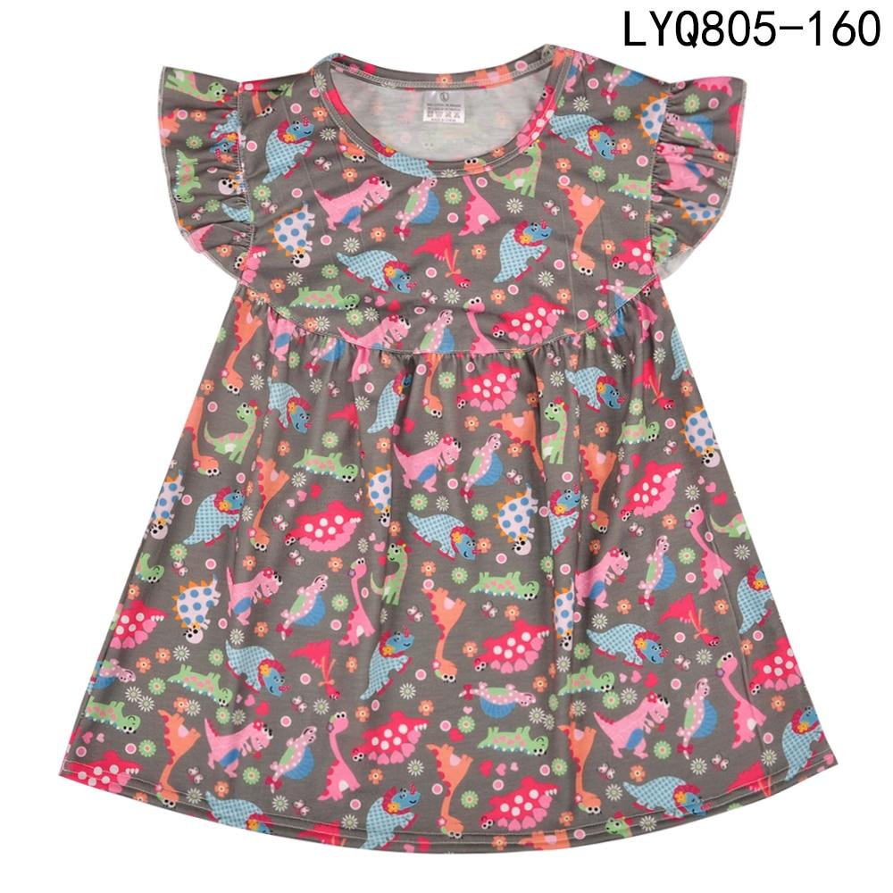 Gratis verzending van hoge kwaliteit boutique remake jurk mode - Kinderkleding - Foto 5