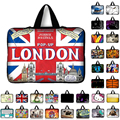 7 10 12 13 14 15 15.6 17.3 em londres REINO UNIDO Bandeira Saco do Caderno Smart Cover Caso Tablet Saco Luva Do Portátil Para Macbook Hp Dell Laptop Sacos
