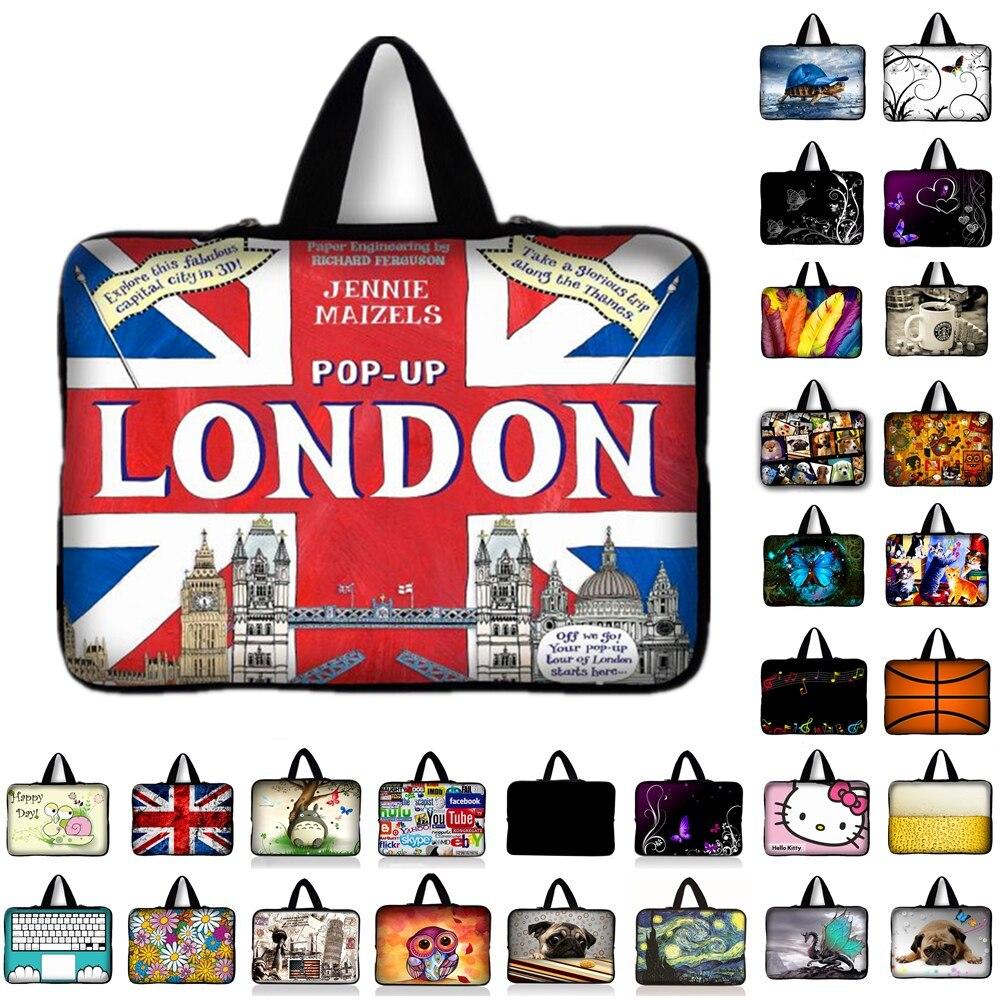 7 10 12 13 14 15 15.6 17.3 london UK Flag Notebook Bag Smart Cover Tablet Bag Laptop Sleeve Case For Macbook Hp Dell Laptop Bags
