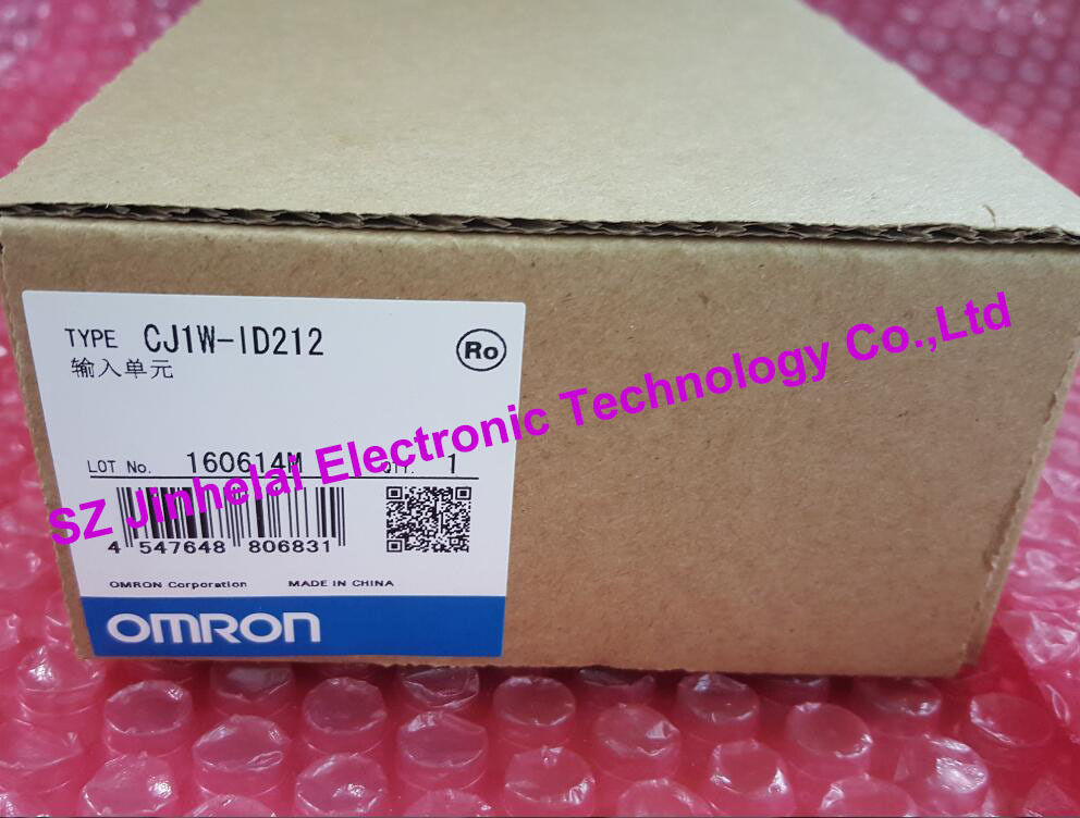 CJ1W-ID212 New and original OMRON PLC CONTROLLER Input unit new and original e3x da11 s omron optical fiber amplifier photoelectric switch 12 24vdc