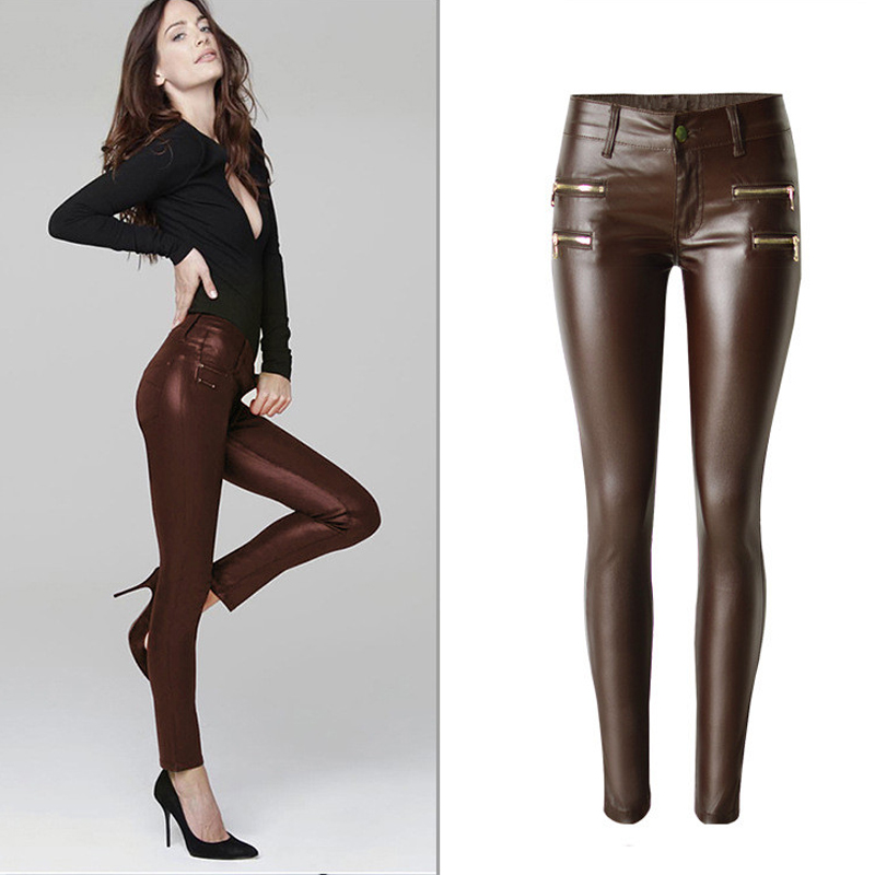 Popular Long Leather Pants-Buy Cheap Long Leather Pants lots from ...