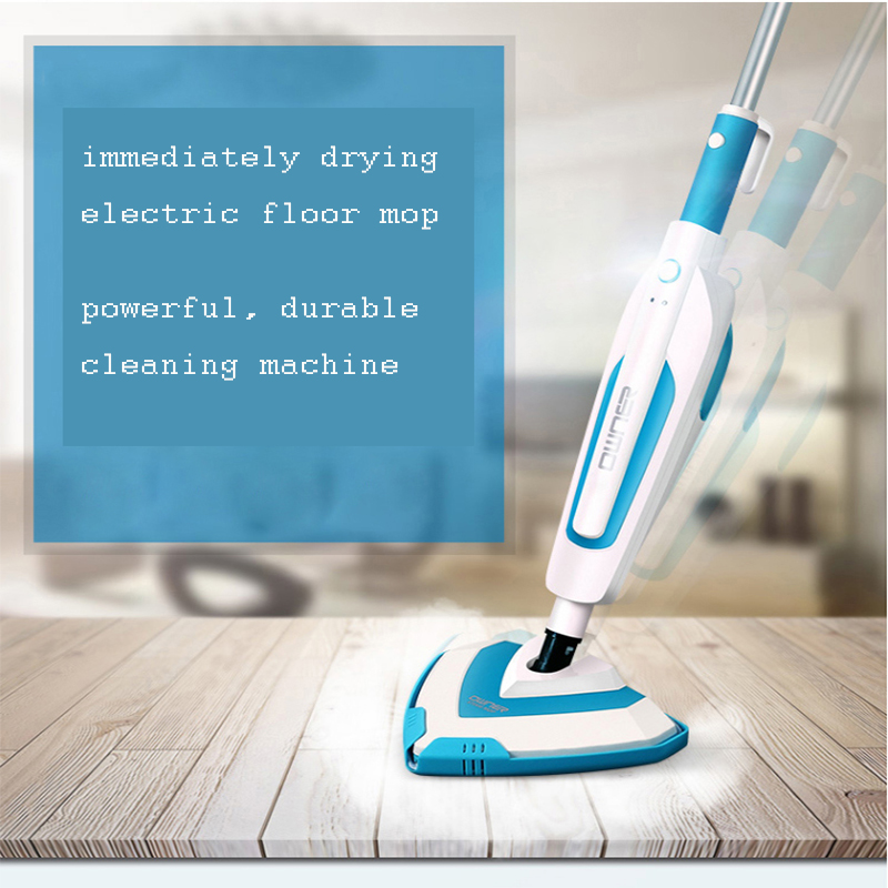 Multifunctional Steam Cleaner Mop Electric Floor Mop Household Hand Cleaning Machine for High Temperature Sterilization 1pc 220v household handheld multifunctional high temperature sterilization removal steam cleaning machine powerful steam engine