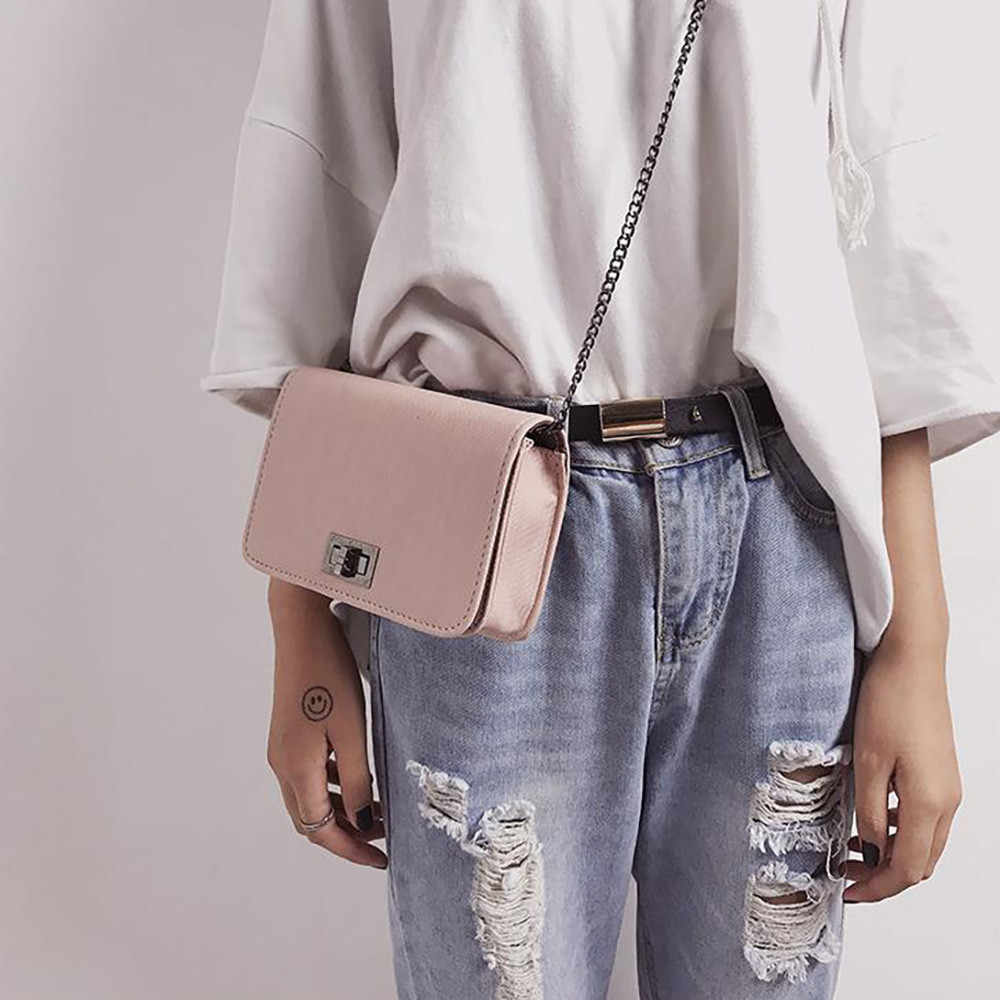 High Quality Handbag Crossbody Bags For Women 2019 New Version Wild Small Square Bag Shoulder Messenger Bag Woman 18x6x14cm