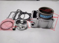 yf300 klx250 klx300 изменение мотоцикл цилиндр поршневой наборы с прокладки