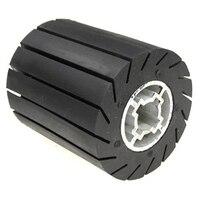 92x100mm expansor de borracha roda centrífuga + luvas de lixamento adaptador para moedor ângulo metal polimento conjunto