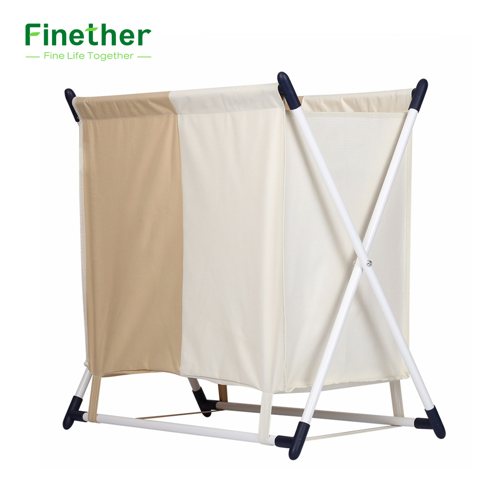 Portable Folding Laundry Basket Laundry Bag Laundry Hamper Basket ...