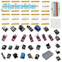 Best price Raspberry Pi 3 Sensor Kit Temperature Humidity Magnetic Laser Sensors LED Resistance Resistor kit for Arduino with Retail Box