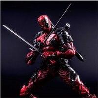 Wholesale PA Figures Deadpool 1/6 Scale Ryan Rodney Reynolds PVC Model PA Anime Figures Collectible Model Toys 26cm