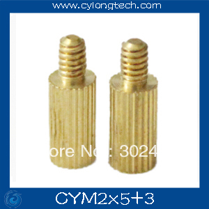 Free shipping M2*5+3mm  cctv camera isolation column 100pcs/lot Monitoring Copper Cylinder Round Screw  цены