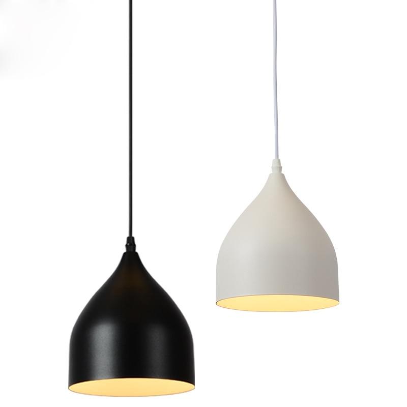 TZ Modern Simple Iron Pendant Lamps Multiple Adjustable Pendant Lights Decorative Fixture Lighting E27 Holder For