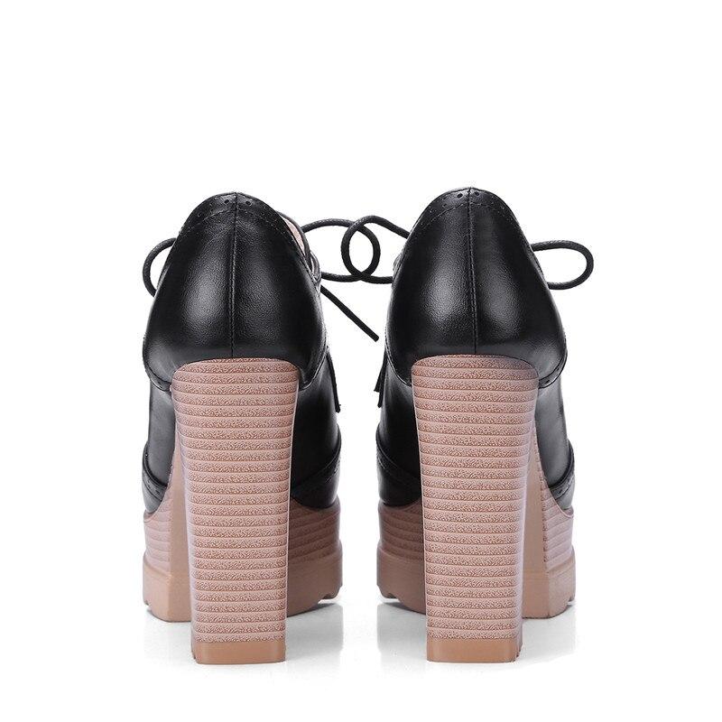 Chaussures Jusqu'à beige forme Pompes camel Bal Spéciale Épais Grande Élégant Haute Dentelle Nouvelles De Offre 2019 Taille rose Femmes La Carré Talons Plate Bout Smeeroon Noir nSqwYvOw