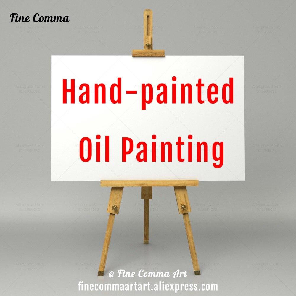 Dipinto a mano Olio Su Tela Dipinto A Mano Riproduzione Della Pittura A Olio Copia Astratta Moderna di Arte Della Parete Immagini di Arte Su Ordinazione Commissione