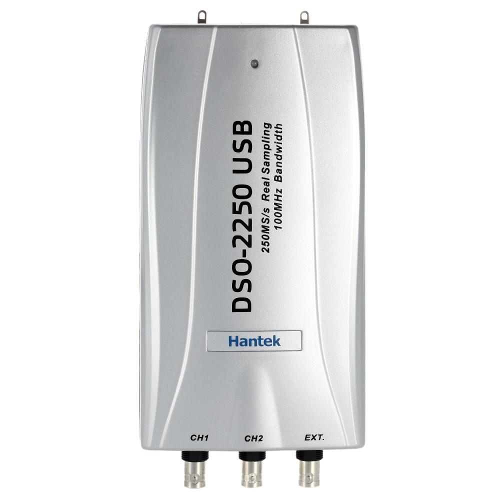 Hantek DSO2250 PC USB Oscilloscope 2 Digital Channels 100MHz Bandwidth 250MSa/s Factory direct sales  цены