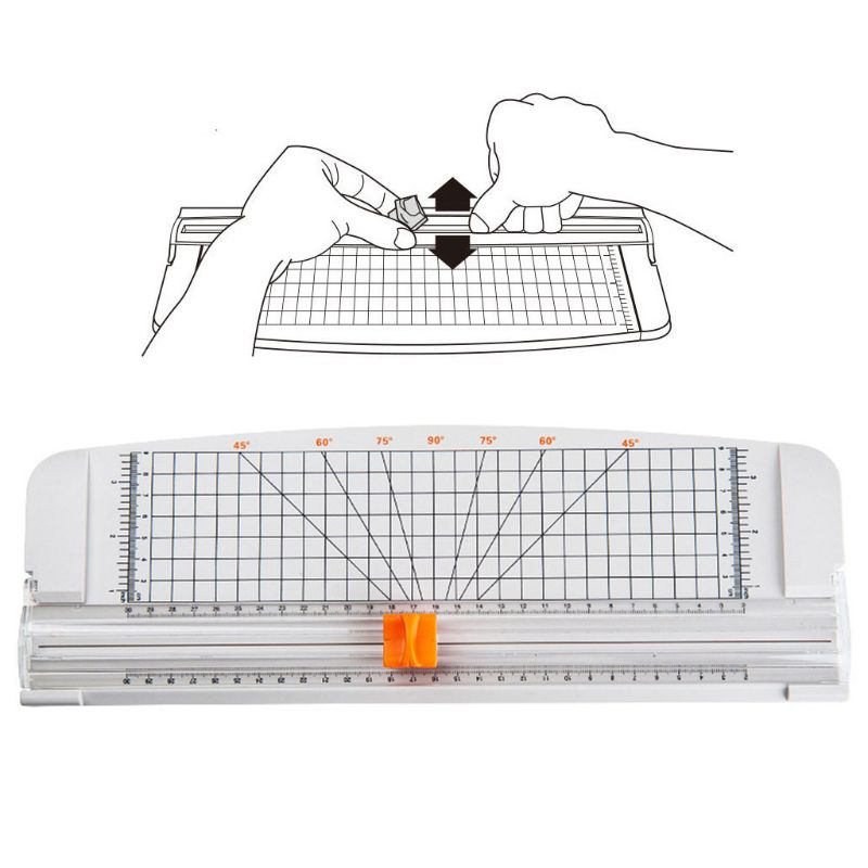Rotary Paper Trimmer Guillotines Paper Photo Card Cutting Machine With Ruler Tile Grid Angle Trimming For A2 A3 A4 A5
