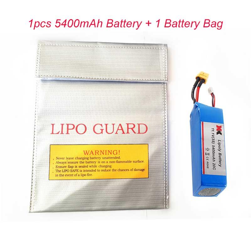 Original XK détecter X380 11.1 V 3 S 5400 mAh Lipo batterie pour XK X380 CX20 batterie RC quadrirotor pièces