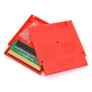 Image 3 - For FC 60 Pin to NES 72 Pin Adapter Converter with Cartridge Shell Case and Screw for NES