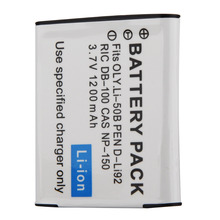 High Quality 1pcs 3.7V 1200mAh LI-50B Battery For Olympus U6000 U8000 U9000 SP-800UZ SZ-10 XZ-1 Camera
