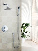Ouboni Shower Set Torneira Good Quality 8 Shower Head Bathroom Rainfall 50232 42A Bath Tub Chrome