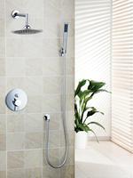 Ouboni Shower Set Torneira Good Quality 8 Shower Head Bathroom Rainfall 50232 42A Bath Tub Chrome