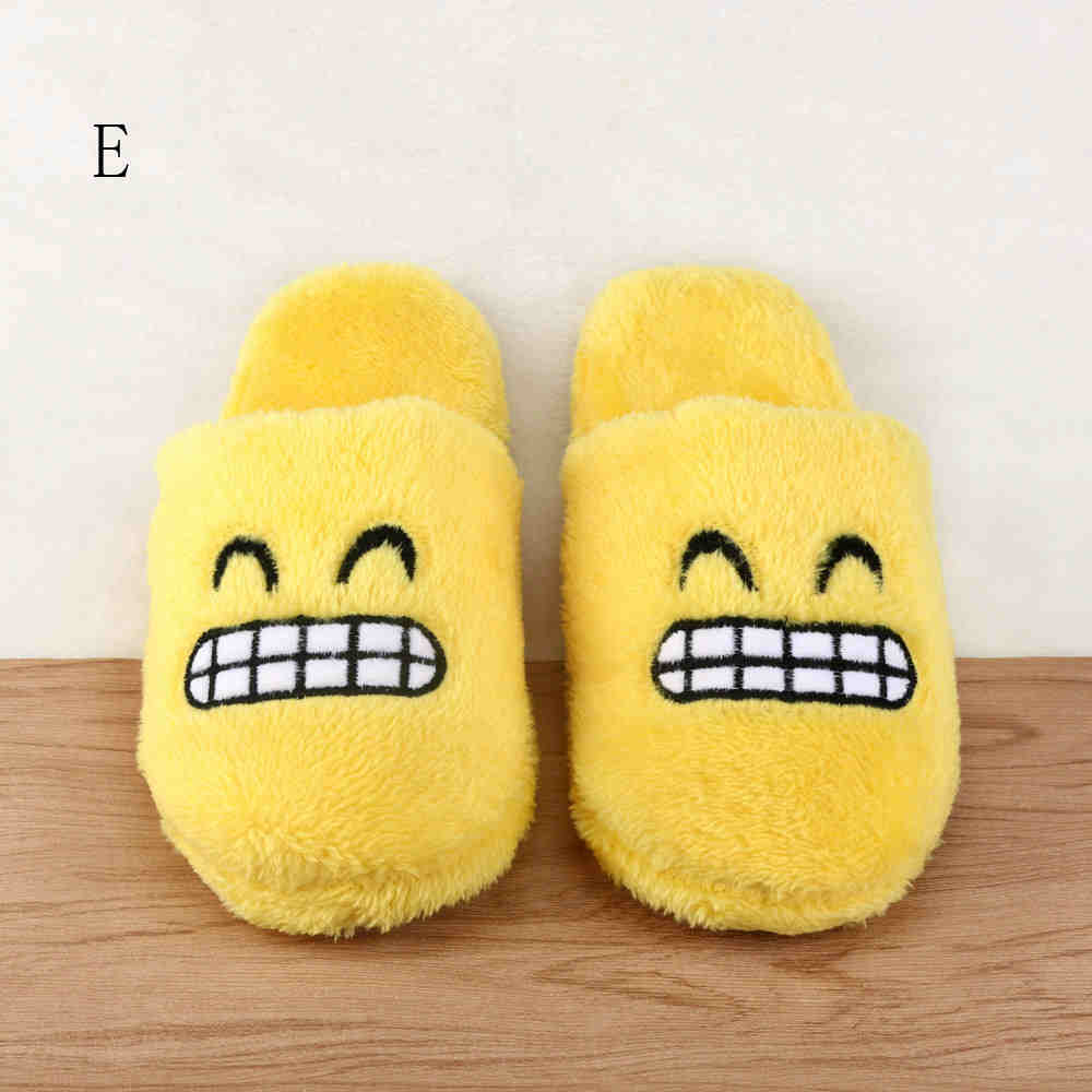 SAGACE 2018 Women Men Cute Slippers Unisex Emoji Cute Cartoon Slippers Spring Warm Soft Stuffed Household Creative Indoor Shoes baitclothing women cute spring