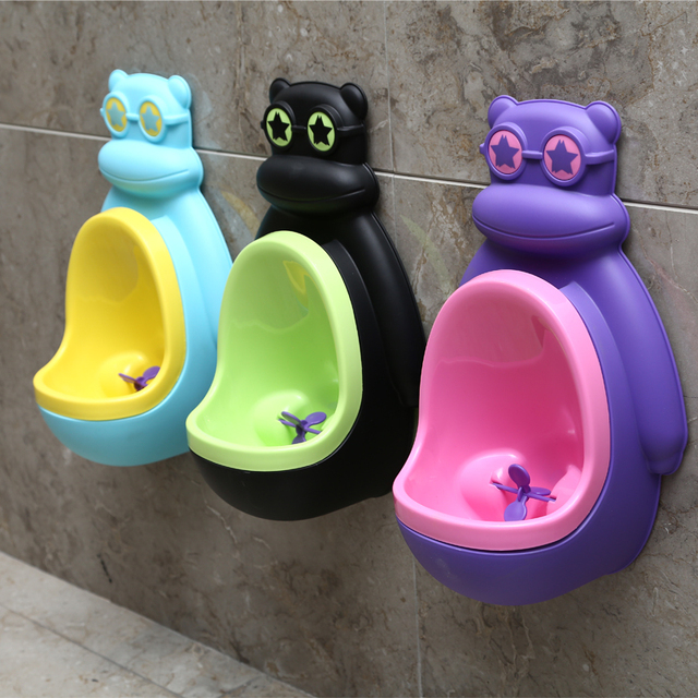 Hot Selling Wall Hanging Baby Boys Urinal Children Standing Baby Vertical Urinal Toilet Baby Boys Potty Toilet Free Shipping