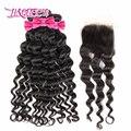 li Queen Hair Products Brazilian Hair Weave Bundles Natural wavy/More Wave Virgin Hair 3Pcs Lot, Top Human Hair Weave Bundles