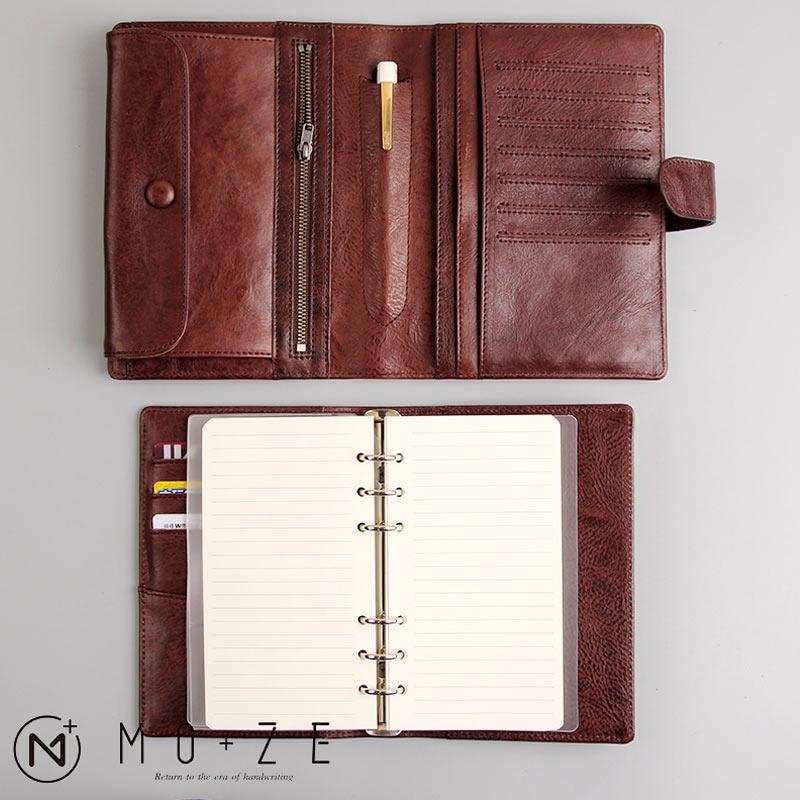 Yiwi 100 Genuine Leather Notebook Handmade Vintage Cowhide Diary Travel Journal Sketchbook Planner Gift