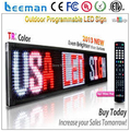 Product Promotional with LED Scrolling Text/Message Display Acrylic Sign Board outdoor scrolling/moving text/message led display