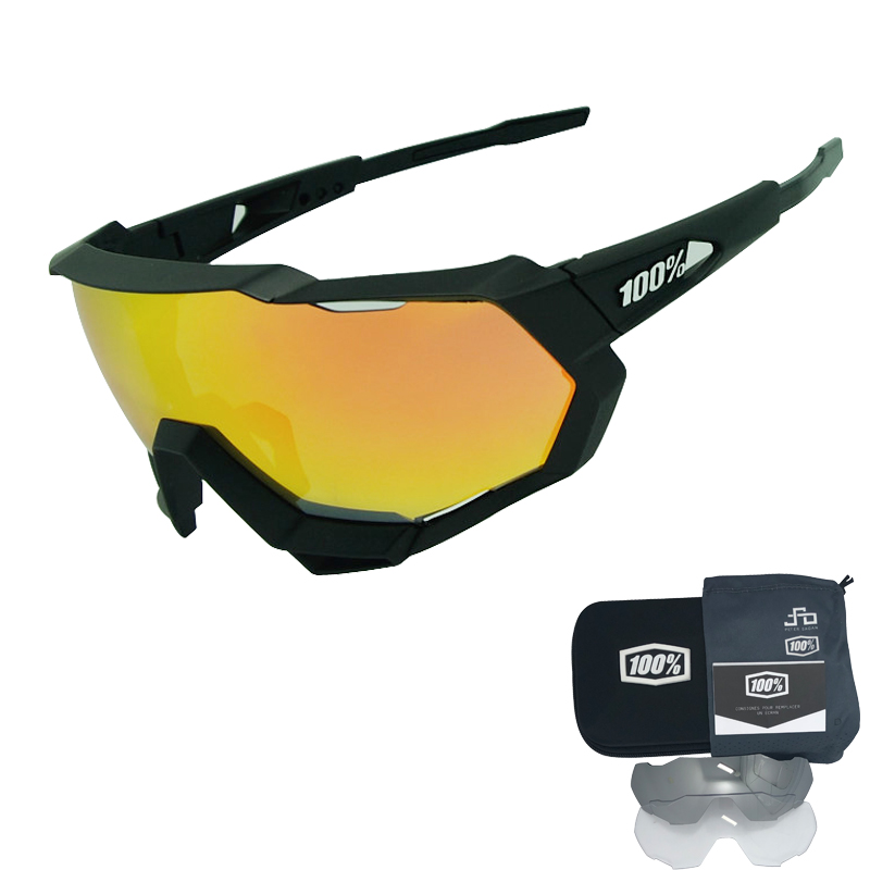 FJ 3 Lens Polarized Outdoor Sports Cycling Sunglasses Men Women Bike Bicycle Road Cycling Eyewear Glasses MTB Goggles