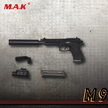1/6 Scale Pistol Model Handgun Weapon Toy ZY2009 Three Types Pistol Model for 12