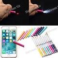 Nuevo 1 Unid Nail Art Brush Pen UV Gel Pincel Acrílico Liner La pintura Con la Pluma Linterna Puntero Láser Manicura Herramienta de Dibujo 10 Estilos