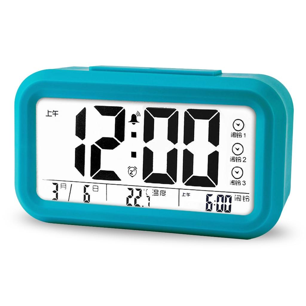 2017 gaya baru super mario bros jam alarm dengan perubahan led digital despertador terbaik hadiah
